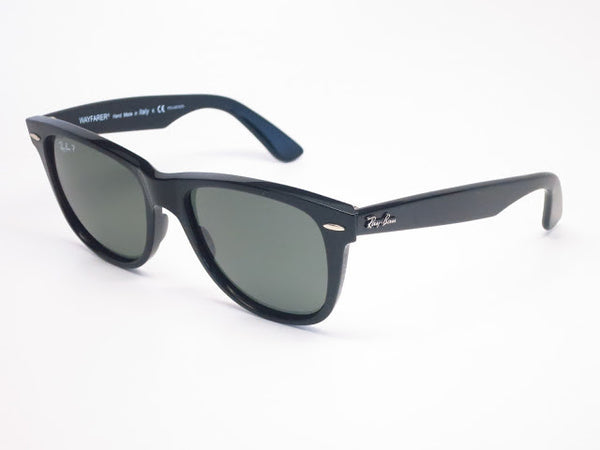 Ray-Ban RB 2140 Original Wayfarer 901/58 Black Polarized Sunglasses - Eye Heart Shades - Ray-Ban - Sunglasses - 1