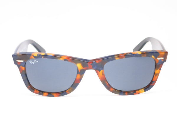 Ray-Ban RB 2140 Original Wayfarer 1158/R5 Spotted Blue Havana Sunglasses - Eye Heart Shades - Ray-Ban - Sunglasses - 2