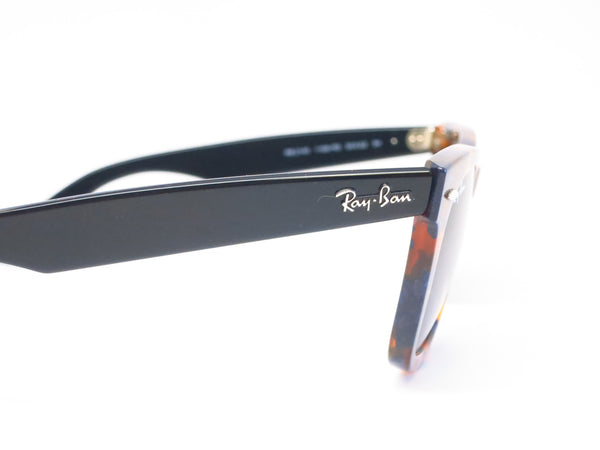 Ray-Ban RB 2140 Original Wayfarer 1158/R5 Spotted Blue Havana Sunglasses - Eye Heart Shades - Ray-Ban - Sunglasses - 4
