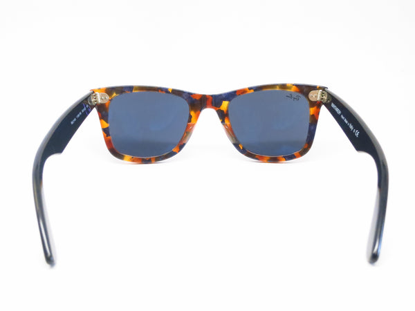 Ray-Ban RB 2140 Original Wayfarer 1158/R5 Spotted Blue Havana Sunglasses - Eye Heart Shades - Ray-Ban - Sunglasses - 8