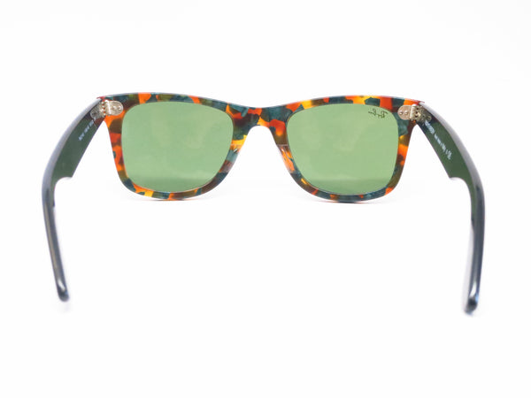Ray-Ban RB 2140 Original Wayfarer 1159/4E Spotted Green Havana Sunglasses - Eye Heart Shades - Ray-Ban - Sunglasses - 10