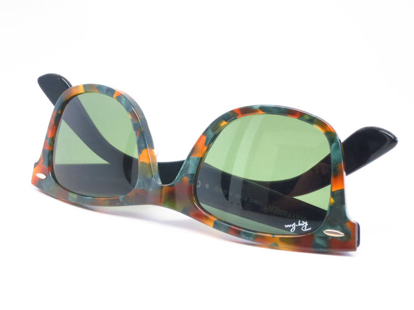 Ray-Ban RB 2140 Original Wayfarer 1159/4E Spotted Green Havana Sunglasses - Eye Heart Shades - Ray-Ban - Sunglasses - 11
