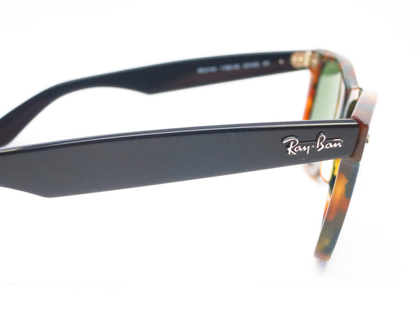 Ray-Ban RB 2140 Original Wayfarer 1159/4E Spotted Green Havana Sunglasses - Eye Heart Shades - Ray-Ban - Sunglasses - 4