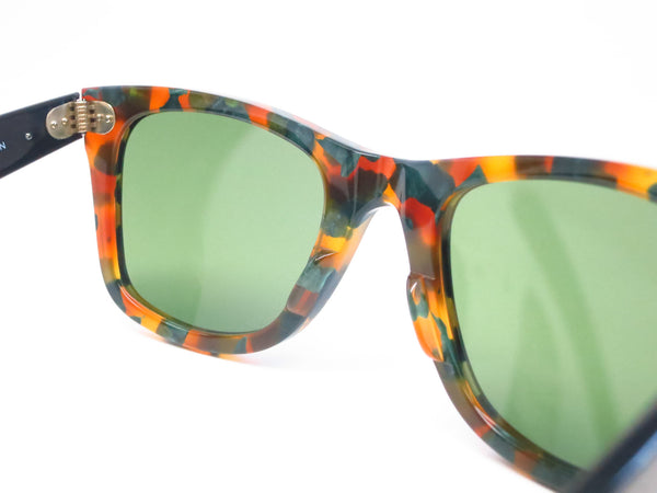 Ray-Ban RB 2140 Original Wayfarer 1159/4E Spotted Green Havana Sunglasses - Eye Heart Shades - Ray-Ban - Sunglasses - 6