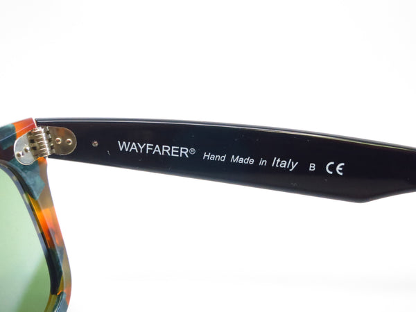 Ray-Ban RB 2140 Original Wayfarer 1159/4E Spotted Green Havana Sunglasses - Eye Heart Shades - Ray-Ban - Sunglasses - 8