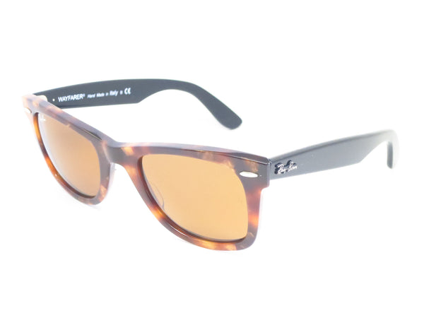 Ray-Ban RB 2140 Original Wayfarer 1160 Spotted Brown Havana Sunglasses - Eye Heart Shades - Ray-Ban - Sunglasses - 1