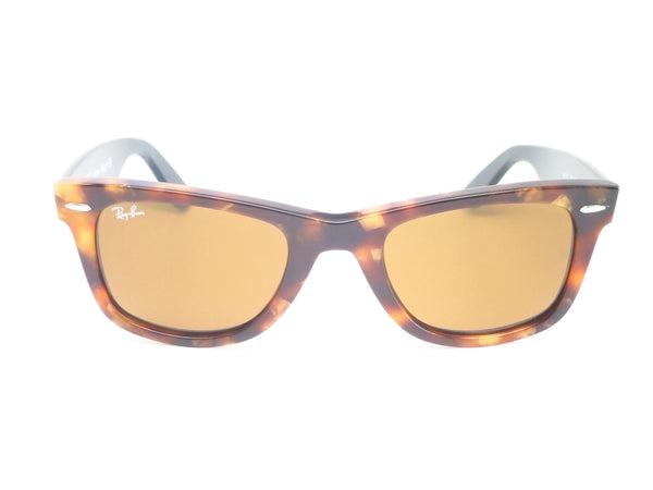 Ray-Ban RB 2140 Original Wayfarer 1160 Spotted Brown Havana Sunglasses - Eye Heart Shades - Ray-Ban - Sunglasses - 2