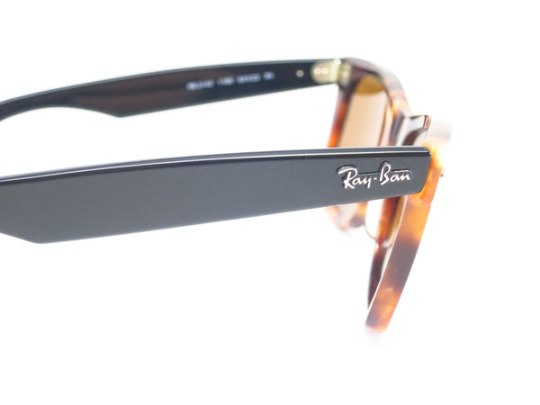 Ray-Ban RB 2140 Original Wayfarer 1160 Spotted Brown Havana Sunglasses - Eye Heart Shades - Ray-Ban - Sunglasses - 4