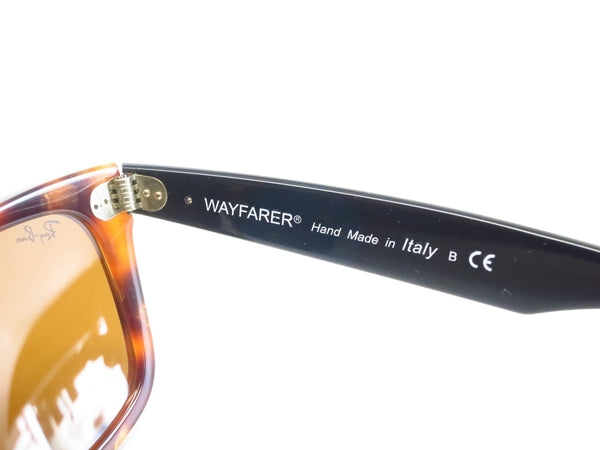 Ray-Ban RB 2140 Original Wayfarer 1160 Spotted Brown Havana Sunglasses - Eye Heart Shades - Ray-Ban - Sunglasses - 7