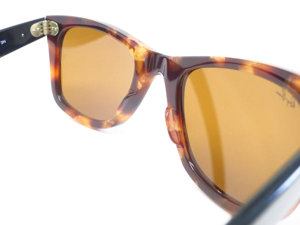 Ray-Ban RB 2140 Original Wayfarer 1160 Spotted Brown Havana Sunglasses - Eye Heart Shades - Ray-Ban - Sunglasses - 8
