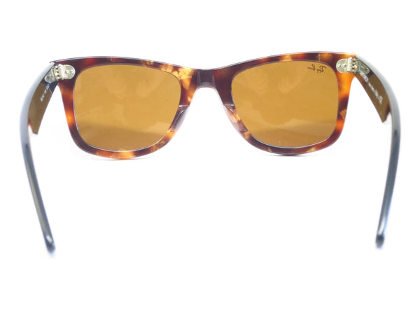 Ray-Ban RB 2140 Original Wayfarer 1160 Spotted Brown Havana Sunglasses - Eye Heart Shades - Ray-Ban - Sunglasses - 9