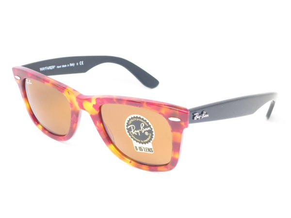 Ray-Ban RB 2140 Original Wayfarer 1161 Spotted Red Havana Sunglasses - Eye Heart Shades - Ray-Ban - Sunglasses - 1