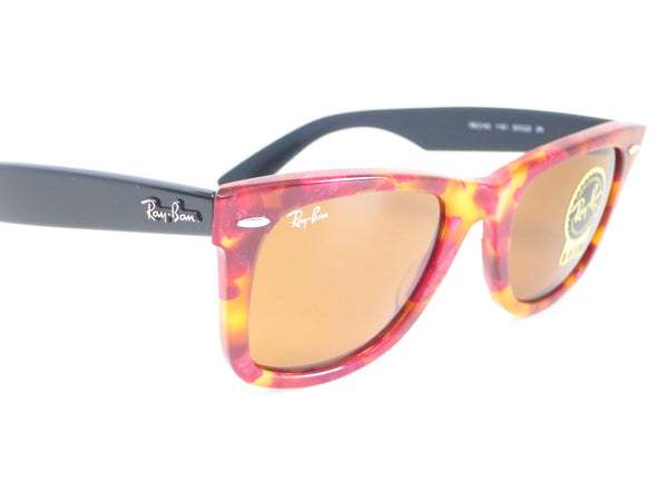 Ray-Ban RB 2140 Original Wayfarer 1161 Spotted Red Havana Sunglasses - Eye Heart Shades - Ray-Ban - Sunglasses - 3