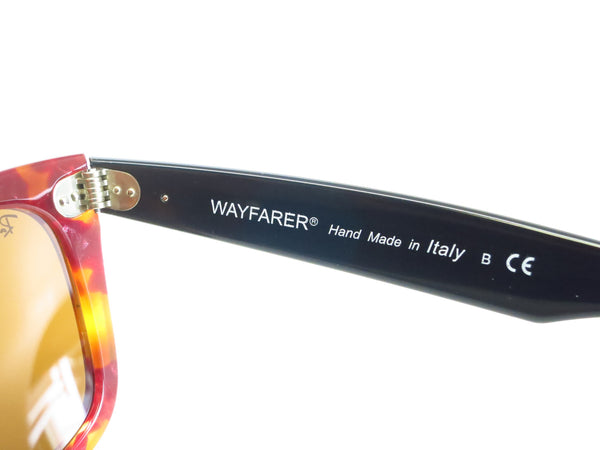 Ray-Ban RB 2140 Original Wayfarer 1161 Spotted Red Havana Sunglasses - Eye Heart Shades - Ray-Ban - Sunglasses - 7