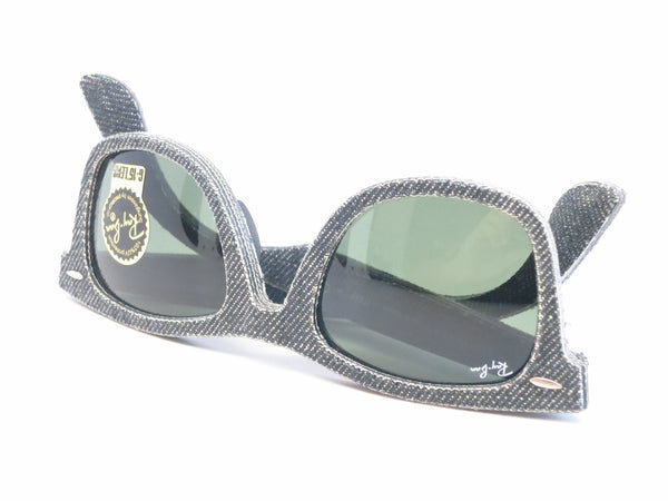 Ray-Ban RB 2140 Original Wayfarer 1162 Jeans Black Sunglasses - Eye Heart Shades - Ray-Ban - Sunglasses - 12