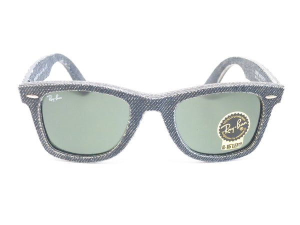Ray-Ban RB 2140 Original Wayfarer 1162 Jeans Black Sunglasses - Eye Heart Shades - Ray-Ban - Sunglasses - 2