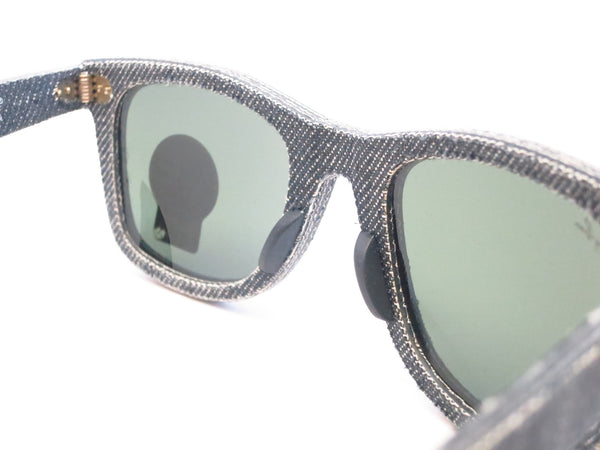 Ray-Ban RB 2140 Original Wayfarer 1162 Jeans Black Sunglasses - Eye Heart Shades - Ray-Ban - Sunglasses - 6