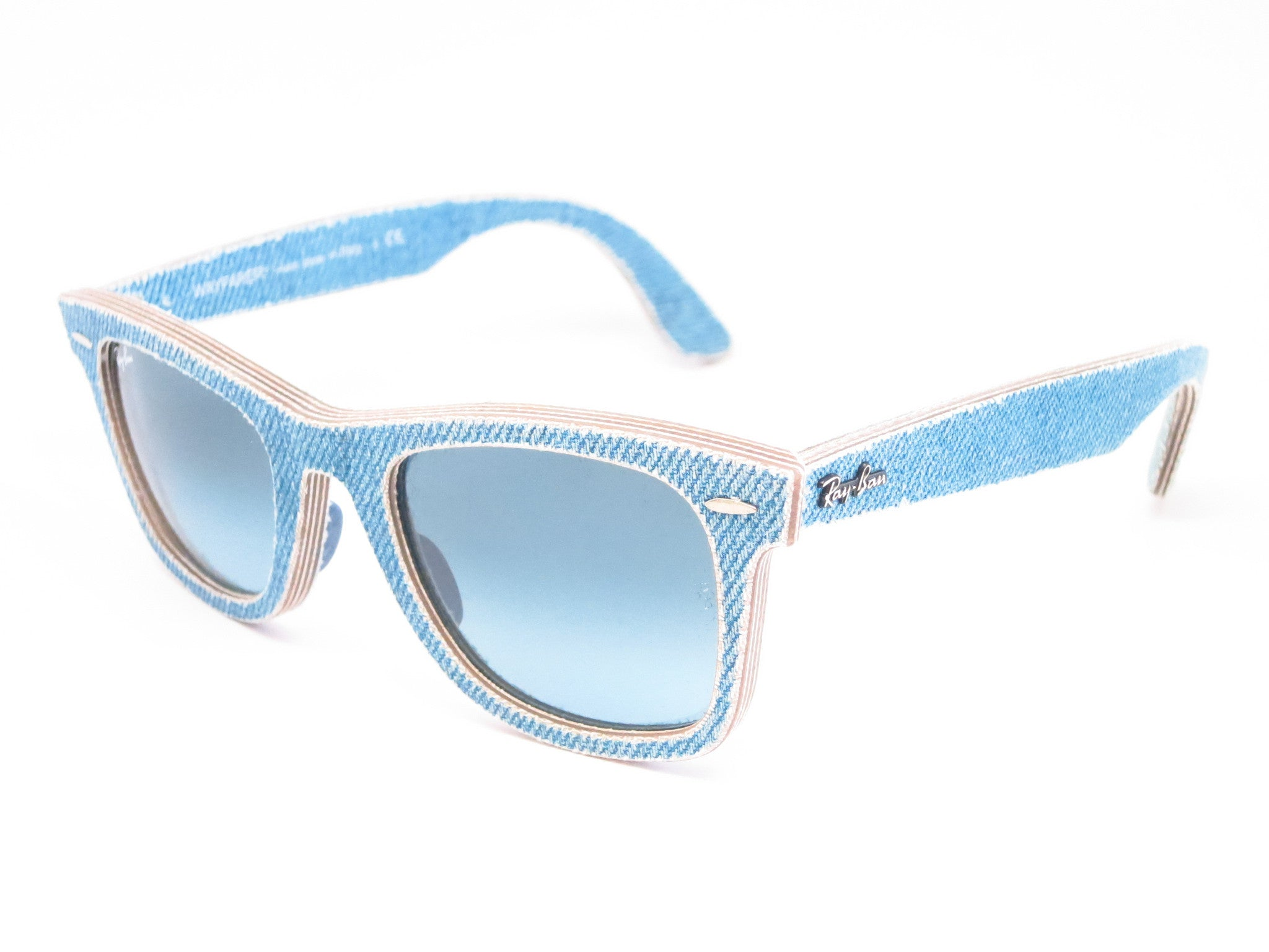 6bb9ce552a Ray Ban Wayfarer 2140 Blue And Cream « Heritage Malta