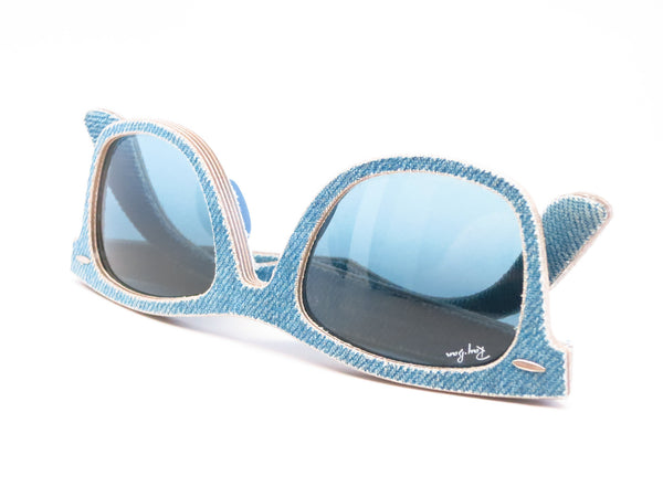 Ray-Ban RB 2140 Original Wayfarer 1164/4M Jeans Azure Sunglasses - Eye Heart Shades - Ray-Ban - Sunglasses - 10