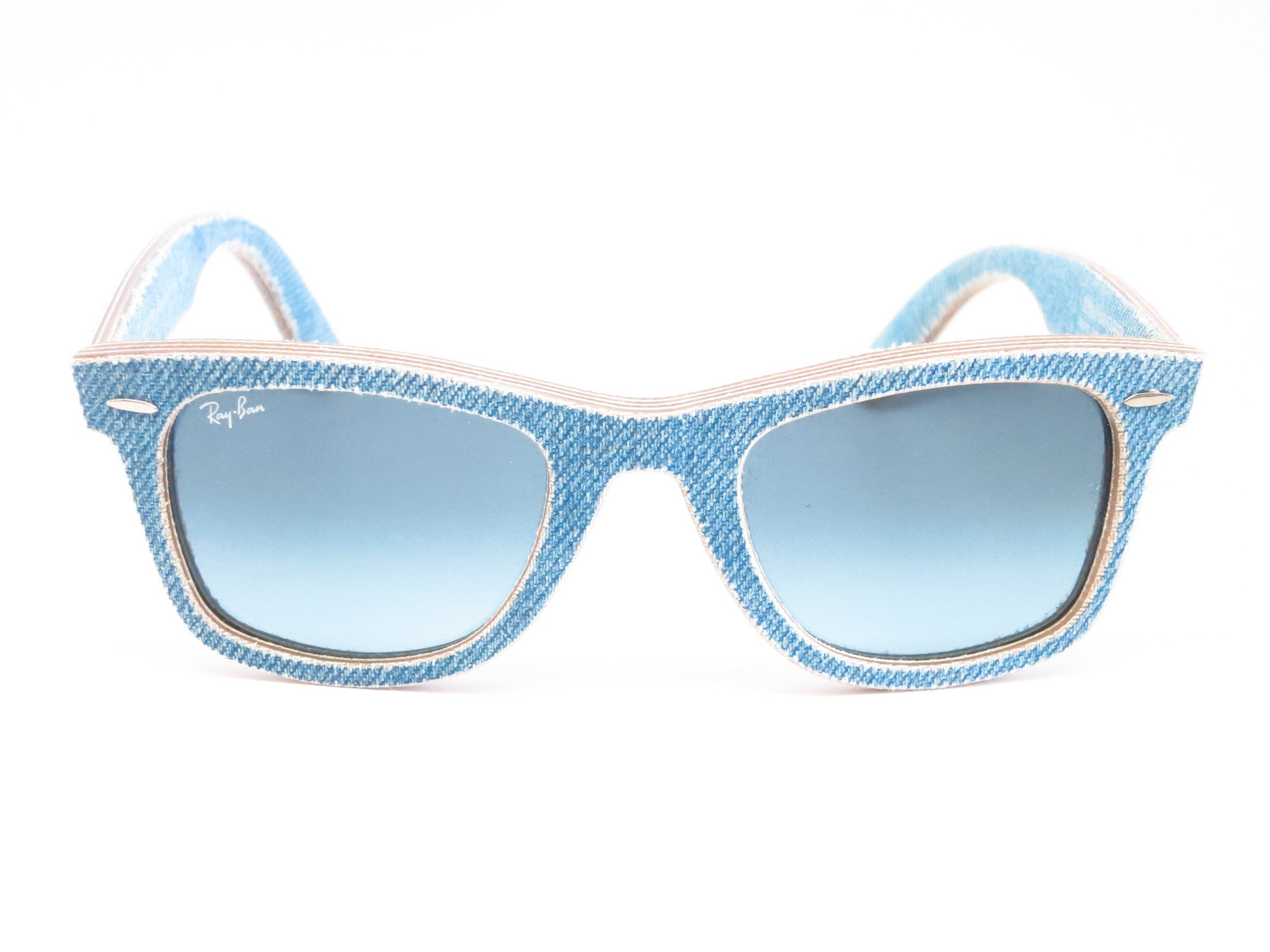 29655f6f05 ... Ray-Ban RB 2140 Original Wayfarer 1164 4M Jeans Azure Sunglasses - Eye  Heart ...
