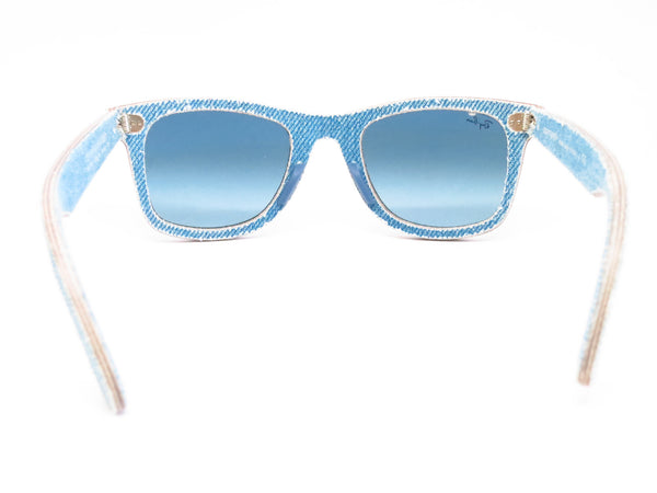 Ray-Ban RB 2140 Original Wayfarer 1164/4M Jeans Azure Sunglasses - Eye Heart Shades - Ray-Ban - Sunglasses - 9
