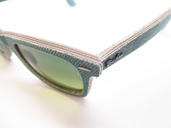Ray-Ban RB 2140 Original Wayfarer 1166/3M Jean Green Sunglasses - Eye Heart Shades - Ray-Ban - Sunglasses - 10