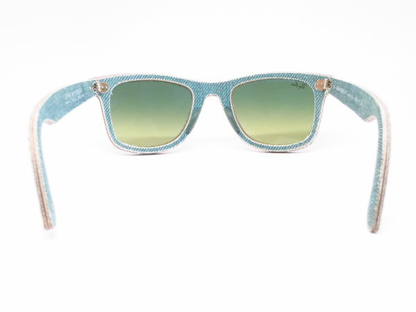 Ray-Ban RB 2140 Original Wayfarer 1166/3M Jean Green Sunglasses - Eye Heart Shades - Ray-Ban - Sunglasses - 11