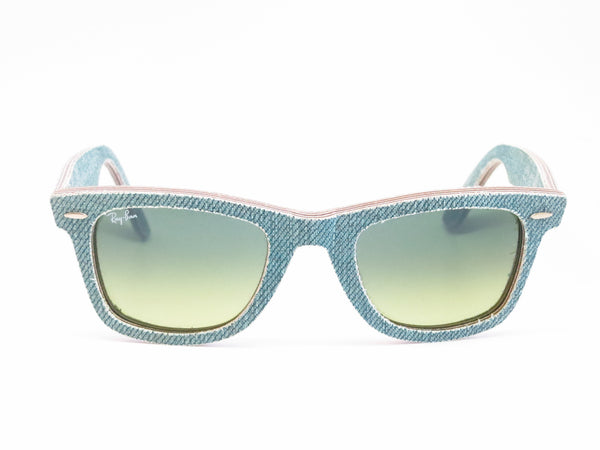 Ray-Ban RB 2140 Original Wayfarer 1166/3M Jean Green Sunglasses - Eye Heart Shades - Ray-Ban - Sunglasses - 2