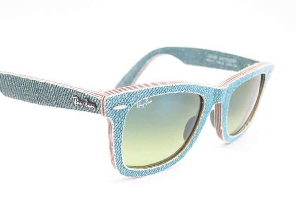 Ray-Ban RB 2140 Original Wayfarer 1166/3M Jean Green Sunglasses - Eye Heart Shades - Ray-Ban - Sunglasses - 3