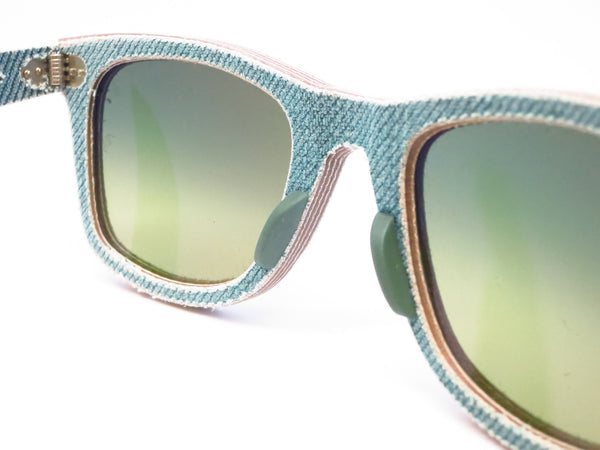 Ray-Ban RB 2140 Original Wayfarer 1166/3M Jean Green Sunglasses - Eye Heart Shades - Ray-Ban - Sunglasses - 6