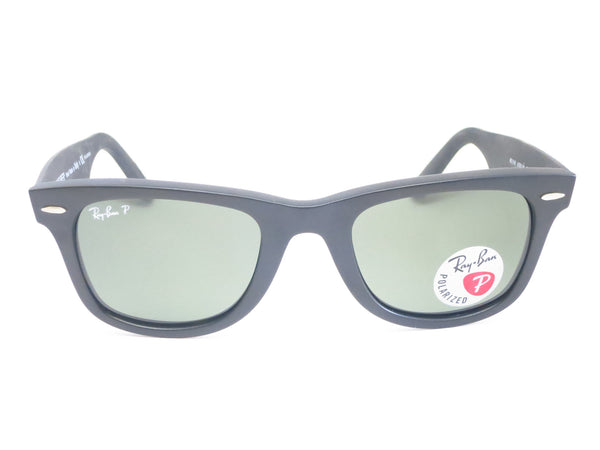 Ray-Ban RB 2140 Original Wayfarer 6066/58 Black Camo Polarized Sunglasses - Eye Heart Shades - Ray-Ban - Sunglasses - 2