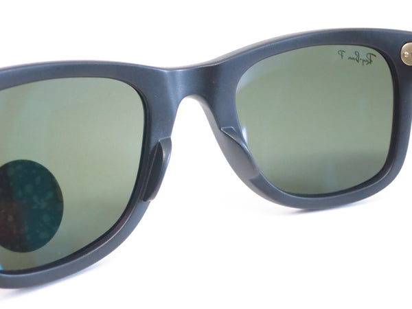 Ray-Ban RB 2140 Original Wayfarer 6066/58 Black Camo Polarized Sunglasses - Eye Heart Shades - Ray-Ban - Sunglasses - 5