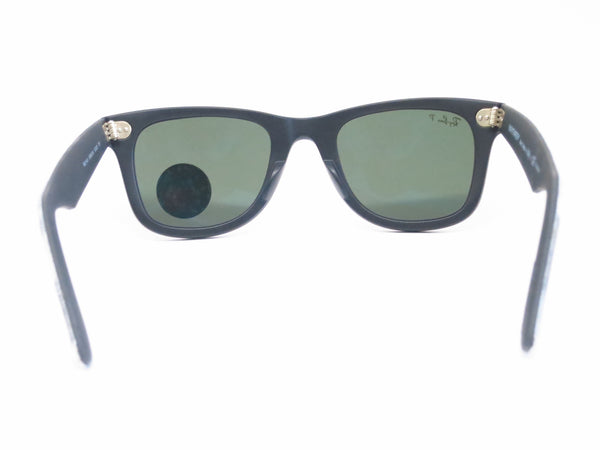 Ray-Ban RB 2140 Original Wayfarer 6066/58 Black Camo Polarized Sunglasses - Eye Heart Shades - Ray-Ban - Sunglasses - 9