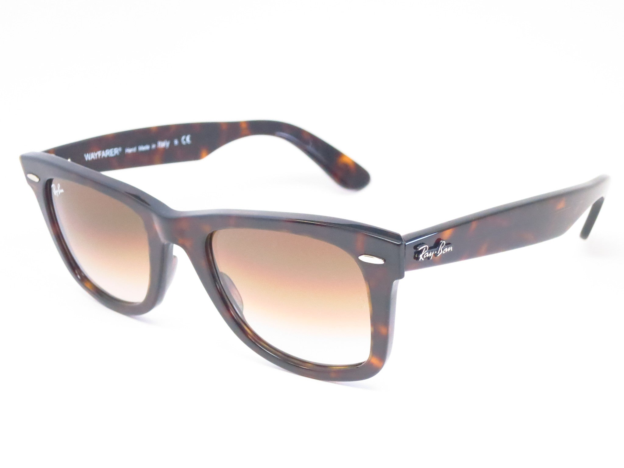 6e761bd0af4 Ray-Ban RB 2140 Original Wayfarer 902 51 Tortoise Sunglasses - Eye Heart  Shades ...
