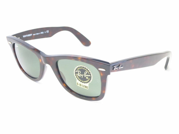 Ray-Ban RB 2140 Original Wayfarer 902 Tortoise Sunglasses - Eye Heart Shades - Ray-Ban - Sunglasses - 1