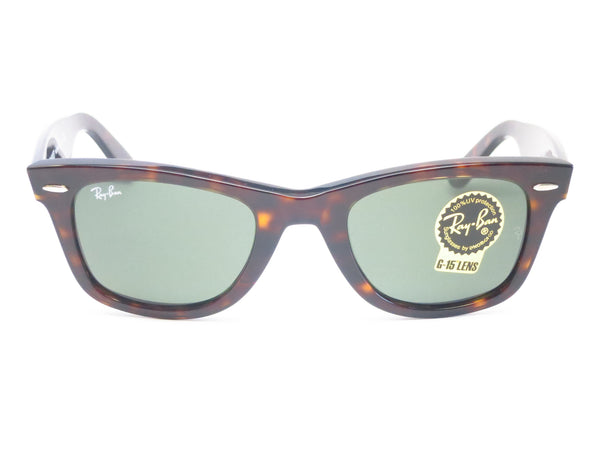 Ray-Ban RB 2140 Original Wayfarer 902 Tortoise Sunglasses - Eye Heart Shades - Ray-Ban - Sunglasses - 2