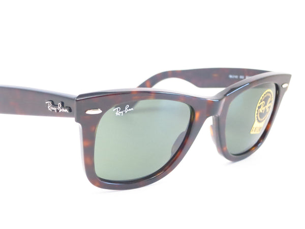 Ray-Ban RB 2140 Original Wayfarer 902 Tortoise Sunglasses - Eye Heart Shades - Ray-Ban - Sunglasses - 3