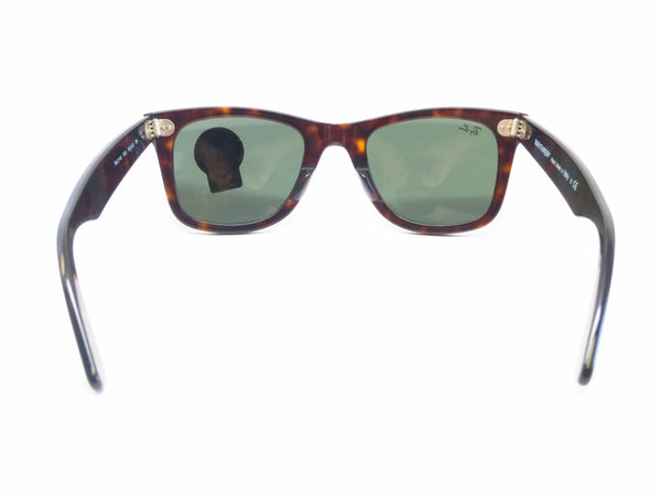 Ray-Ban RB 2140 Original Wayfarer 902 Tortoise Sunglasses - Eye Heart Shades - Ray-Ban - Sunglasses - 9
