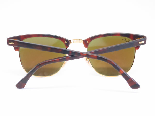 Ray-Ban RB 3016 Clubmaster 1145/17 Sand Havana / Gold Sunglasses - Eye Heart Shades - Ray-Ban - Sunglasses - 11
