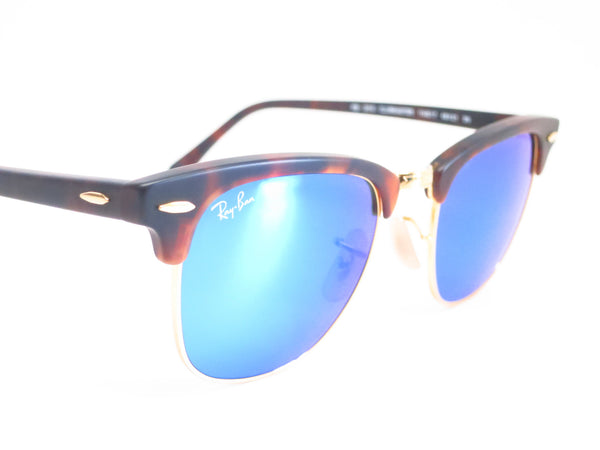 Ray-Ban RB 3016 Clubmaster 1145/17 Sand Havana / Gold Sunglasses - Eye Heart Shades - Ray-Ban - Sunglasses - 3