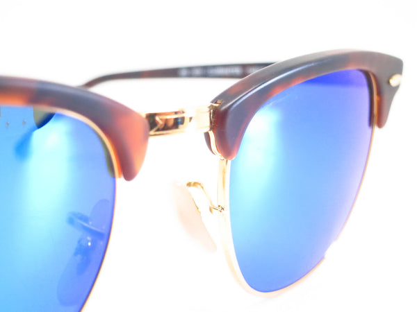 Ray-Ban RB 3016 Clubmaster 1145/17 Sand Havana / Gold Sunglasses - Eye Heart Shades - Ray-Ban - Sunglasses - 4