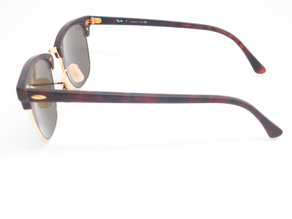 Ray-Ban RB 3016 Clubmaster 1145/19 Sand Havana / Gold Sunglasses - Eye Heart Shades - Ray-Ban - Sunglasses - 5