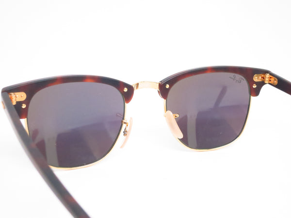 Ray-Ban RB 3016 Clubmaster 1145/19 Sand Havana / Gold Sunglasses - Eye Heart Shades - Ray-Ban - Sunglasses - 8