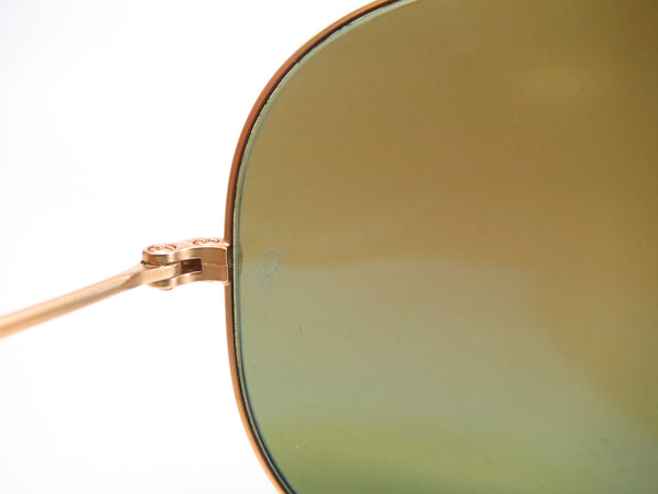 Ray-Ban RB 3025 Aviator 112/4L Matte Gold Polarized Sunglasses - Eye Heart Shades - Ray-Ban - Sunglasses - 5
