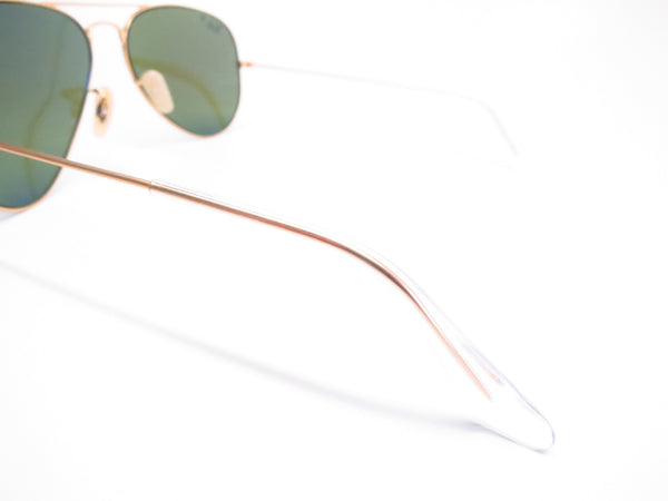 Ray-Ban RB 3025 Aviator 112/4L Matte Gold Polarized Sunglasses - Eye Heart Shades - Ray-Ban - Sunglasses - 6