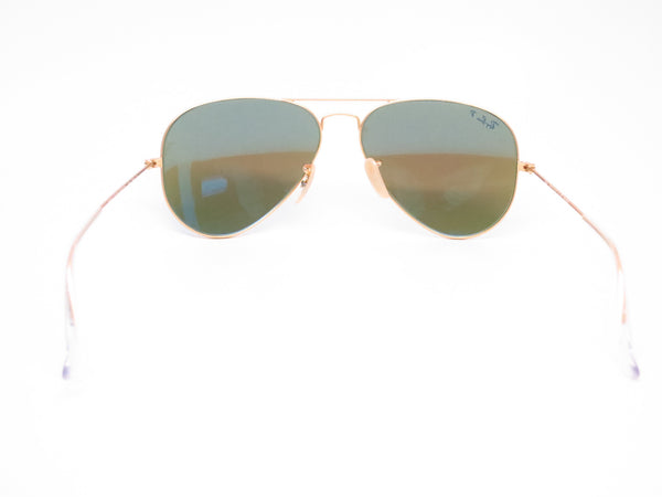 Ray-Ban RB 3025 Aviator 112/4L Matte Gold Polarized Sunglasses - Eye Heart Shades - Ray-Ban - Sunglasses - 7