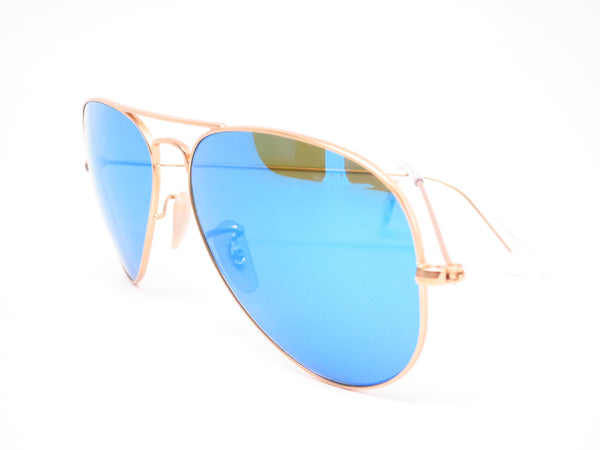 Ray-Ban RB 3025 Aviator 112/4L Matte Gold Polarized Sunglasses - Eye Heart Shades - Ray-Ban - Sunglasses - 9