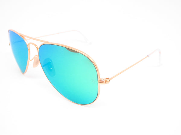 Ray-Ban RB 3025 Aviator 112/19 Matte Gold Sunglasses - Eye Heart Shades - Ray-Ban - Sunglasses - 1