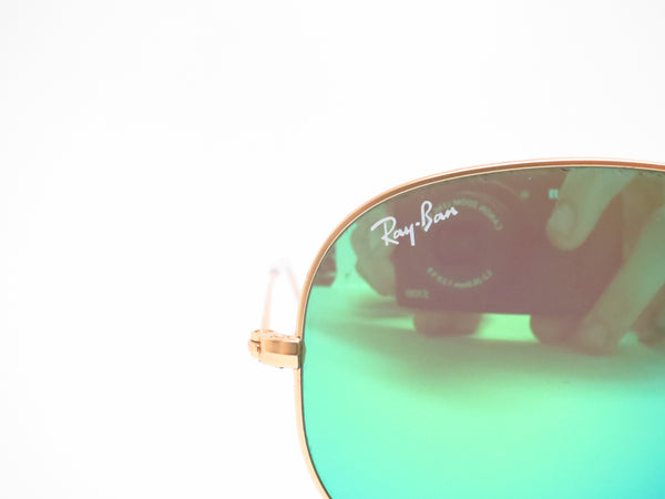Ray-Ban RB 3025 Aviator 112/19 Matte Gold Sunglasses - Eye Heart Shades - Ray-Ban - Sunglasses - 4