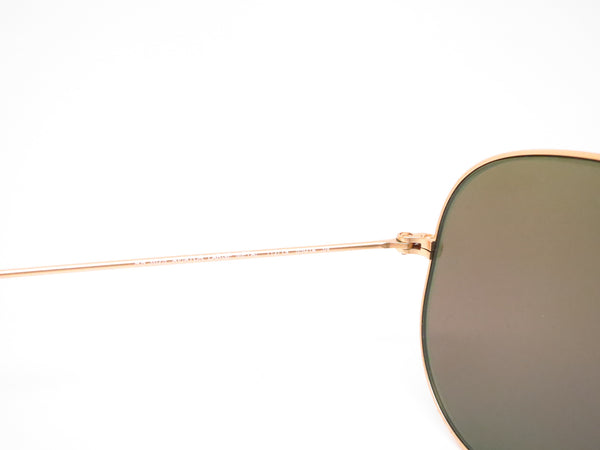 Ray-Ban RB 3025 Aviator 112/19 Matte Gold Sunglasses - Eye Heart Shades - Ray-Ban - Sunglasses - 6